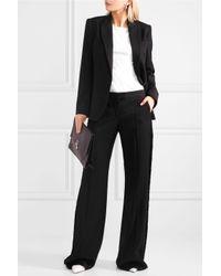 Stella McCartney Wool-twill Blazer Black