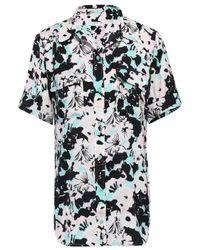 Equipment Slim Signature Floral-print Crepe De Chine Shirt Pastel Pink