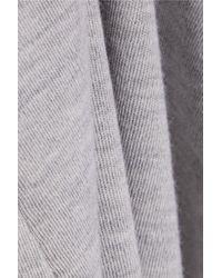 Michael Kors - Gray Cashmere Top - Lyst