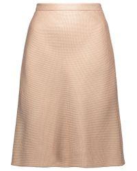 Valentino Natural Woven Mini Skirt