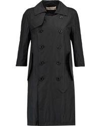 Marni Black Shell Trench Coat