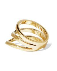 Arme De L'Amour Metallic Sterling-silver Ring