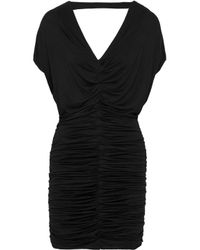 78cea1ab934 Bailey 44. Women s Woman Impact Zone Ruched Stretch-jersey Mini Dress Black