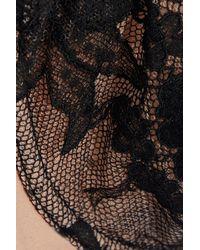 Stella McCartney - Multicolor Chantilly Lace And Stretch-jersey Balconette Bra - Lyst