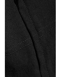 IRO - Black Calley Cutout Crepe Mini Dress - Lyst