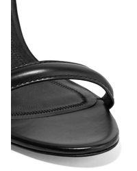 Alexander Wang Black Antonia Leather Sandals