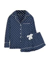 Three J Nyc Blue Sleepwear