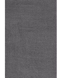Chan Luu - Gray Woman Fringe-trimmed Cashmere And Silk-blend Gauze Scarf Anthracite - Lyst
