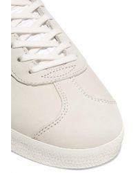 Adidas Originals Gray Gazelle Suede Sneakers