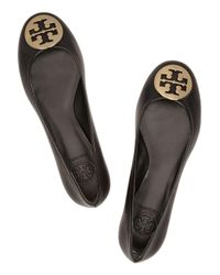 Tory Burch Multicolor Reva Leather Ballet Flats