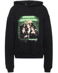 Balenciaga Black Speedhunters Hooded Sweatshirt