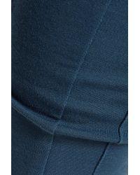 Y-3 Blue + Adidas Stretch-jersey Leggings
