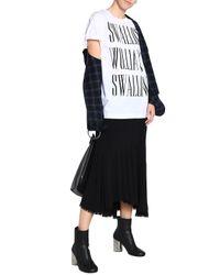 McQ Alexander McQueen White Short Sleeved