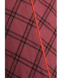 LoveStories Orange Printed Cotton Flared Pajama Pants