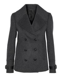 Belstaff Northill Double-breasted Wool And Cashmere-blend Jacket Dark Gray