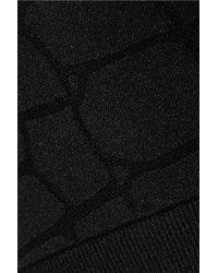 Yummie By Heather Thomson - Black Mia Stretch Jacquard-knit Bra - Lyst