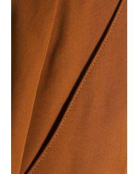 Vanessa Seward Multicolor Cotton-gabardine Shorts