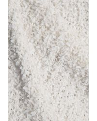 By Malene Birger - White Fillon Textured Stretch-knit Midi Dress - Lyst