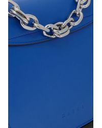 Marni Royal Blue Shoulder Bag