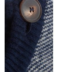 MiH Jeans Blue Striped Wool-blend Sweater