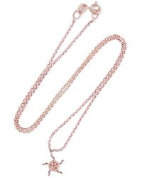 Aamaya By Priyanka Multicolor Sun Rose Gold-plated Sterling Silver Crystal Necklace