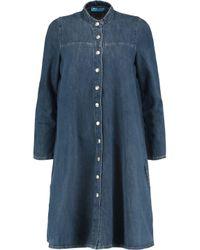 MiH Jeans Blue Denim Mini Dress