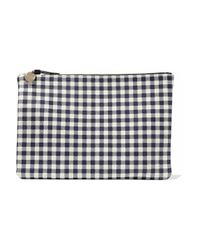 Clare V. Blue Clutch Bags