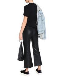 McQ Alexander McQueen Black Short Sleeved