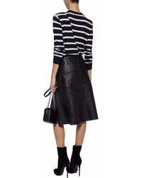 McQ Alexander McQueen Black Long Sleeved