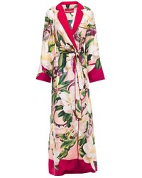 F.R.S For Restless Sleepers Pink Roda Long Robe