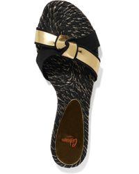 Castaner Black Sandals