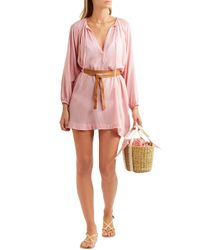 Eberjey Pink Summer Of Love Juliet Cover Up