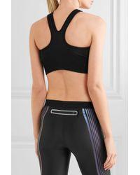 Nike - Lab Essentials Dri-fit Stretch-jersey Sports Bra Midnight Blue - Lyst