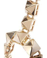 Valentino - Metallic Studded Gold-plated Headpiece - Lyst
