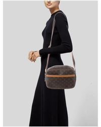 Louis Vuitton - Natural Monogram Reporter Pm Brown - Lyst