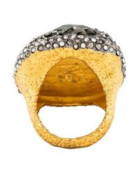 Alexis Bittar - Metallic Crystal Siyabona Ring Gold - Lyst