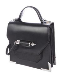 Mackage - Metallic Mini Rubie Satchel Black - Lyst