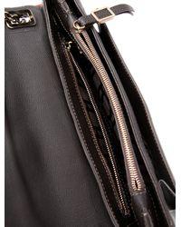 Roger Vivier - Natural Leather Metropolitan Bag Brass - Lyst