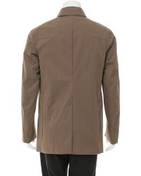 Dior Homme - Natural Double-breasted Trench Coat Tan for Men - Lyst