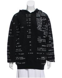 3.1 Phillip Lim - Black Oversize Hooded Sweater W/ Tags - Lyst