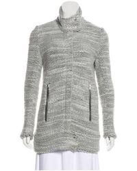 IRO - Natural Wool-blend Ajuma Coat Grey - Lyst