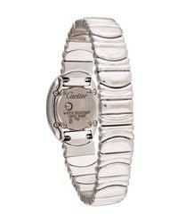 Cartier - Metallic Baignoire Watch White - Lyst