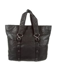 Chanel - Metallic 8 Knots Leather Tote Black - Lyst