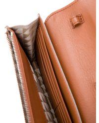 Proenza Schouler - Metallic Ps11 Convertible Wallet Grey - Lyst