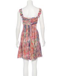 Chanel | Pink Tweed Shift Dress | Lyst