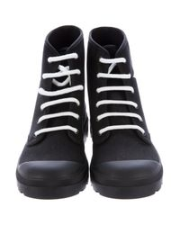 Givenchy - Black Star Combat Boots W/ Tags for Men - Lyst