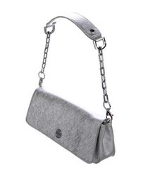 Tory Burch - Metallic Elongated Clutch - Lyst