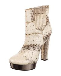 Rachel Zoe - Brown Pointed-toe Platform Boots - Lyst