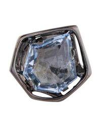 Alexis Bittar - Blue Synthetic Quartz Cocktail Ring - Lyst