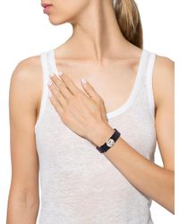 Louis Vuitton - Metallic Monogram Wish Bracelet Black - Lyst